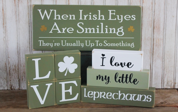 St Patrick's Day Signs