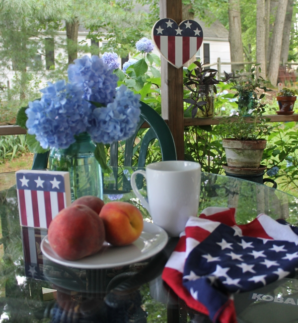 Patriotic Porch Fourth of July