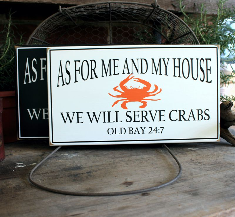 we will serve crabs old bay