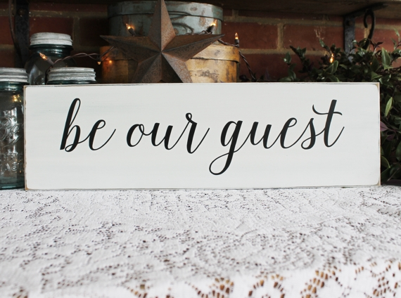 Be our Guest Be our Guest