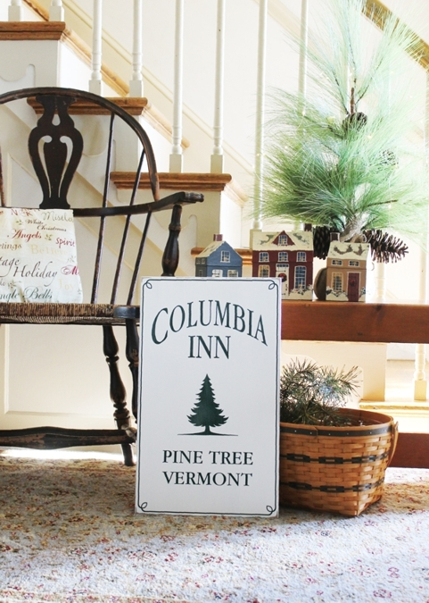 Columbia Inn White Christmas