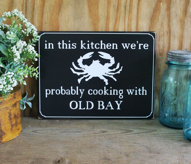 In this Kitchen Cooking with Old Bay