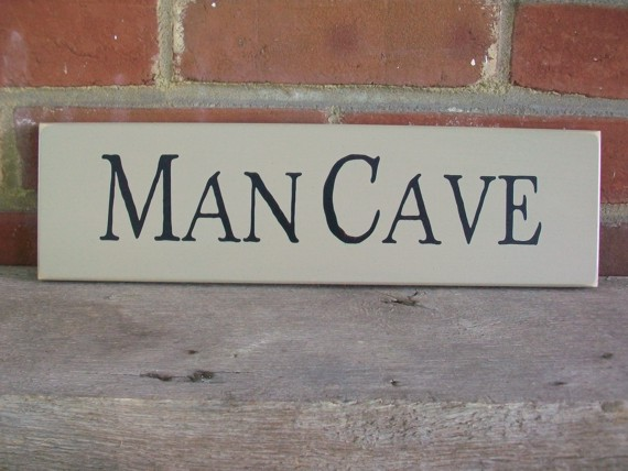 Cheap Personalized Man Cave Signs : Man cave wood sign painted for that special guy