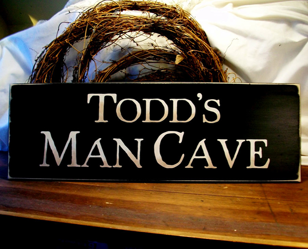 Cheap Personalized Man Cave Signs : Personalized man cave sign