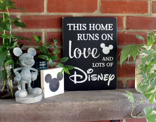This home runs on love and disney