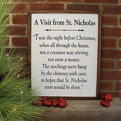 A Visit from St Nicholas Twas the Night Before Christmas