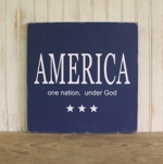 America One Nation. Under God