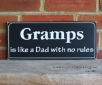 Gramps is like a Dad with No Rules