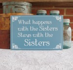What happens with the Sisters