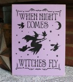 When Night Comes Witches Fly