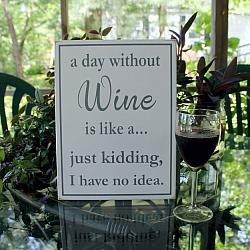A Day Without Wine