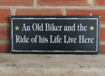 An Old Biker and the Ride of his Life Live Here