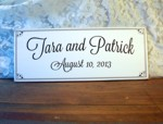 Personalized Wedding Sign 3