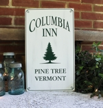 Columbia Inn Pine Tree, Vermont White Christmas Design 2