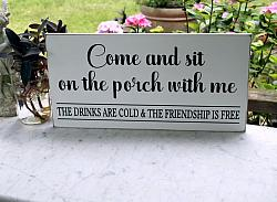 Come Sit on the Porch with Me 10x20