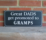 Great Dads get promoted to Gramps