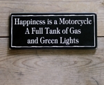 Happiness is a Motorcycle...