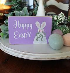 Happy Easter Mini Sign
