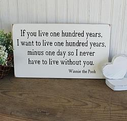 If you live one hundred years 8x14