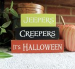 Shelf Sitter Blocks Jeepers Creepers