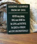 Lessons I Learned from My Dog