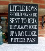 Little Boys Should Never Be Sent To Bed