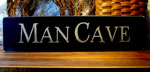 Large Man Cave Sign