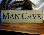 Man Cave Tan 6x20 inches