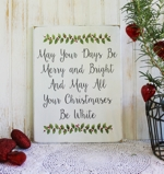 May Your Days Be Merry and Bright Design 2