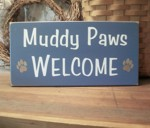 Muddy Paws Welcome