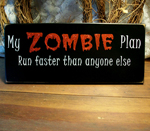 My Zombie Plan ... Run