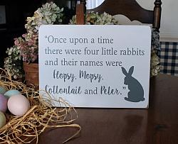Once Upon A Time There Were Four Little Rabbits