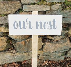 Our Nest Yard Sign