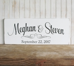 Personalized Wedding Sign 2