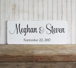 Personalized Wedding Sign 1