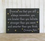 Promise me you will always remember 9x12