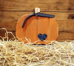 Pumpkin Wood 8x10 inches