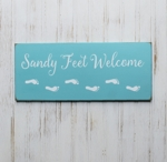 Sandy Feet Welcome
