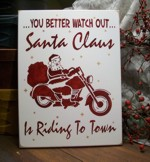 Santa Claus is Riding to Town!