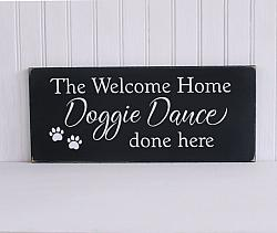 The Welcome Home Doggie Dance Done Here