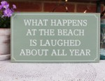 What Happens at the Beach is Laughed About