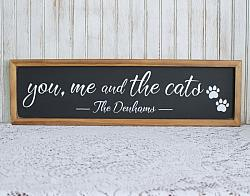 You Me and the Cat